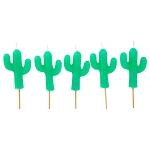 Saguaro Cactus Cake Candles
