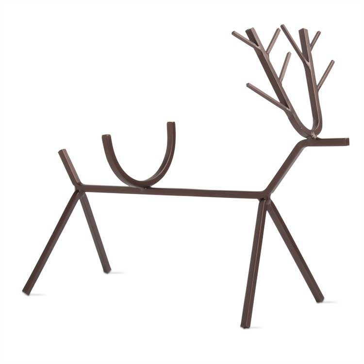 Reindeer Metal Wine Bottle Holder