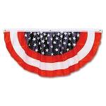 Single Swag Stars & Stripes Fabric Bunting