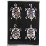 Sea Turtle Zinc Alloy Napkin Rings (4)