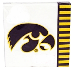 Iowa Hawkeyes Beverage Napkins (20) **CLEARANCE**