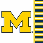 Michigan Wolverines Beverage Napkins (20)