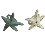 Rustic Starfish Napkin Ring - 2 colors