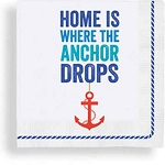 Home Is Where The Anchor Drops Beverage Napkins (24)