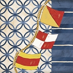 Boating Bonanza Nautical Flag Beverage Napkins (18)