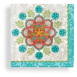 Boho Chic Beach Beverage Napkins (24)