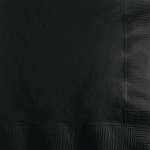 Black Velvet Paper Napkins (50) - 2 sizes