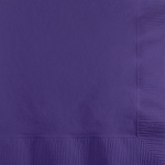 Purple Paper Napkins (50) - 2 sizes