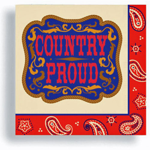 Country Proud Beverage Napkins