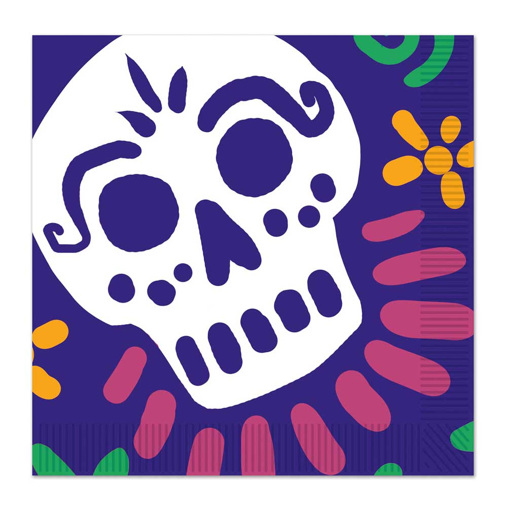 Day of the Dead Luncheon Napkins (16)