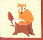 Foxy Fox Napkins