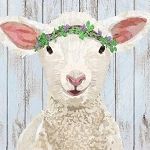 Little Lamb Maisie Beverage Napkins (20)