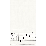 Musical Score Napkins - Dinner (15)