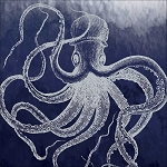 Marine Octopus Luncheon Napkins (16)