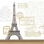 Paris Rendezvous Napkins - 2 sizes