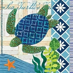 Sea Turtle's Tale Beverage Napkins (20)