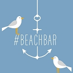 Seagull #BEACHBAR Napkins (20) - 2 sizes