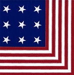 Star Spangled Patriotic Napkins - 2 sizes