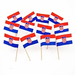 Croatia | Croatian Flag Toothpicks (100)