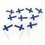 Finland | Finnish Flag Toothpicks (100)