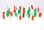 Ireland | Irish Flag Toothpicks (100)