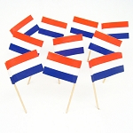 Netherlands | Holland | Dutch Flag Toothpicks (100)