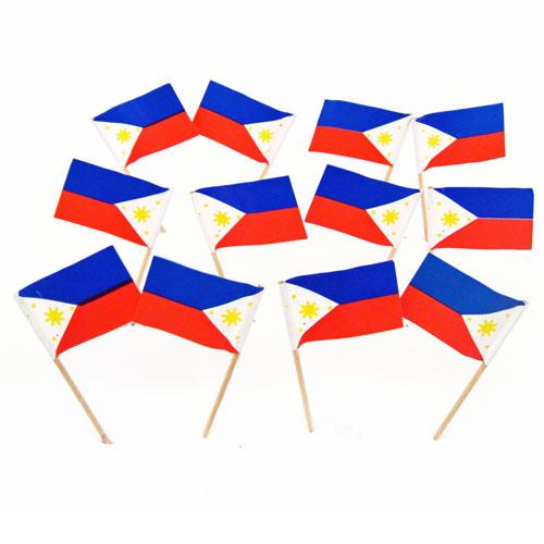 Filipino Flag Toothpicks