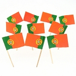 Portugal | Portugese Flag Toothpicks (100)