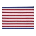 Red, White & Blue Striped Placemat