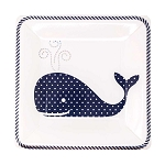 Whimsical Whales Dessert & Salad Paper Plates