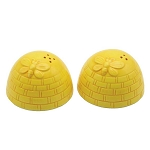 Ceramic Honey Beehives Salt & Pepper Shakers