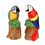 Macaw Parrot Ceramic Salt & Pepper Shakers