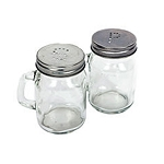 Glass Mason-Jar-Style Salt & Pepper Shakers