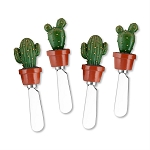 Potted Cactus Handle Spreaders (4)