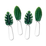 Tropical Palm Leaf Handle Spreaders (4)