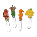 Colorful Sea Life Handle Spreaders (4)