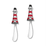 Zinc Lighthouse Handle Spreaders - Set of 2