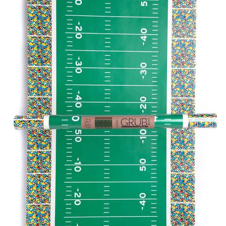 32-Foot Football Field Paper Banquet Roll