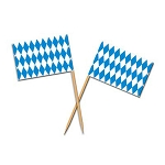 Oktoberfest Flag Toothpicks (50)