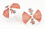 North Carolina State Wolfpack Drink Umbrellas/Parasols (24)