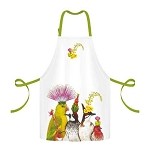 Madcap Bird Entourage 100% Twill Cotton Apron