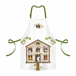 Madcap Bird House Party 100% Twill Cotton Apron
