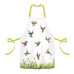 Madcap Hummingbird Buzz 100% Twill Cotton Apron