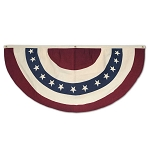 Americana Stars & Stripes Single Swag Fabric Bunting