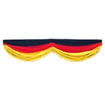 Germany Black, Red & Yellow Fabric Bunting