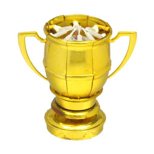 Sport Version of The Original Lotus Flower Birthday Candle Tennis Ball Trophy Happy Birthday Exciting Candle\u00ae