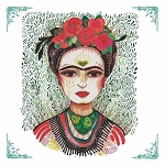 Frida Kahlo Napkins (20) - 2 sizes