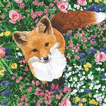 Garden Fox Beverage Napkins (20)