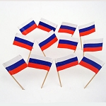 Russia | Russian Flag Toothpicks (100)