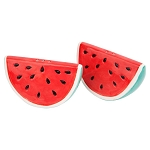 Ceramic Watermelons Salt & Pepper Set